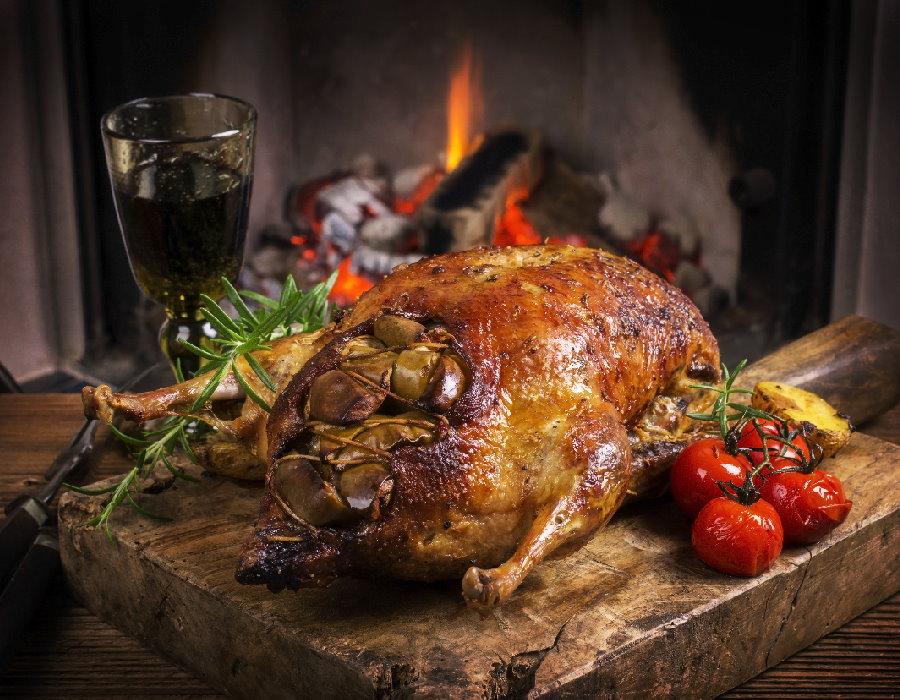 Volaille de Noël - Repas de fêtes de fin d'année